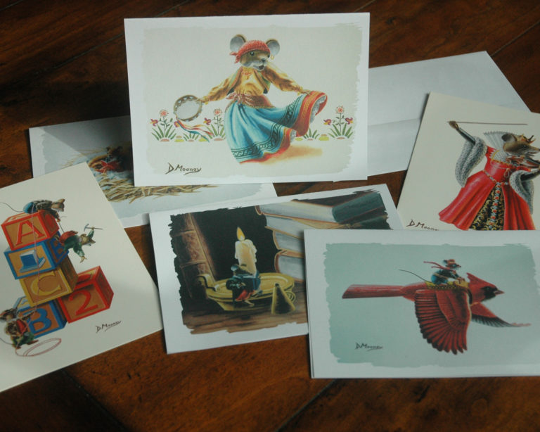 Title photo of Whiskerland Notecards